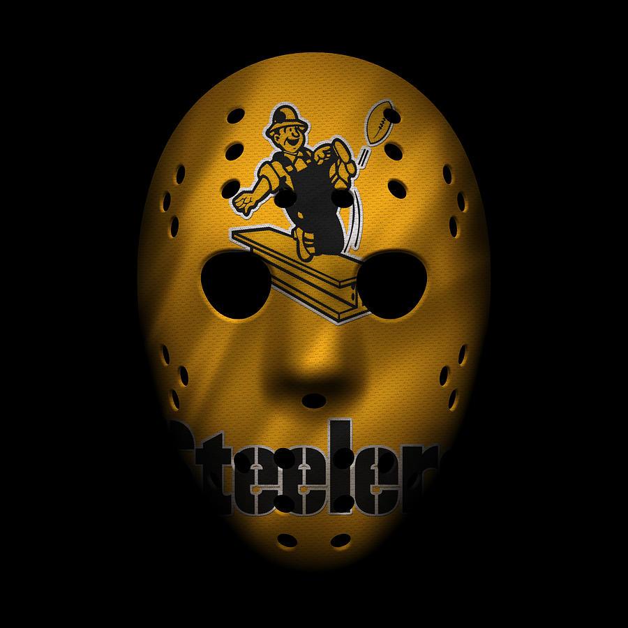 Steelers Photograph - Steelers War Mask 3 by Joe Hamilton