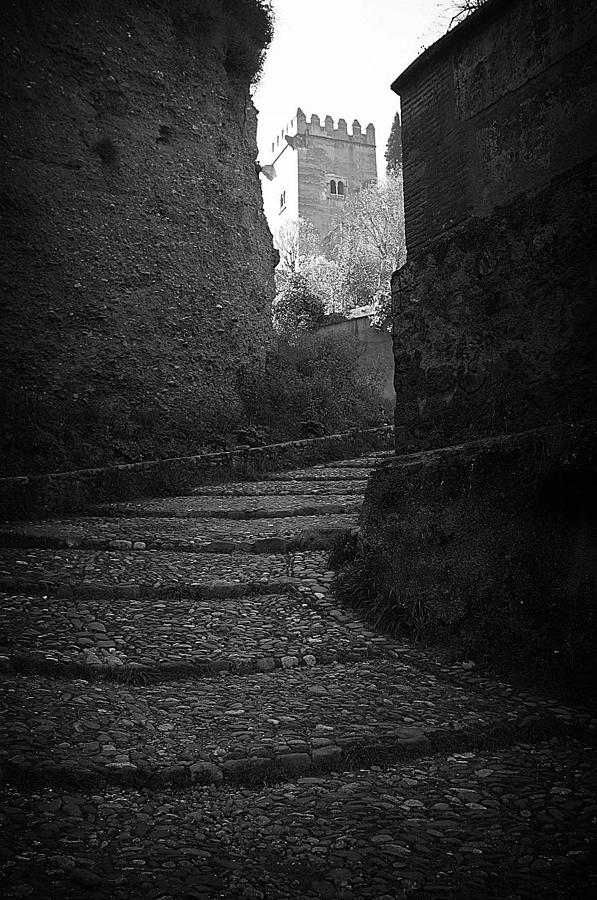 Photographer Photograph - Steep Walk To The Tower by Jez C Self
