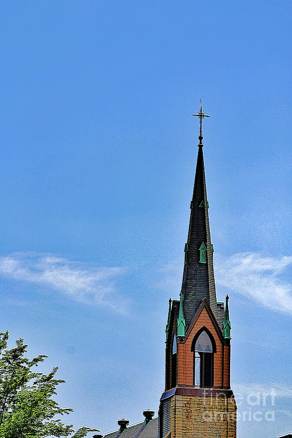 Steeple Of St Rose Photograph