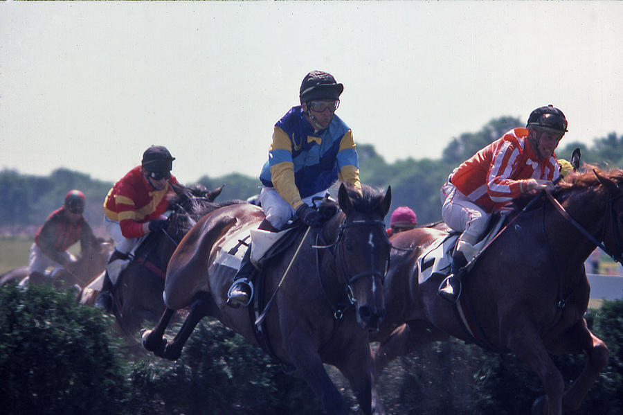 Steeplechase Photograph - Steeplechase - 3 by Randy Muir
