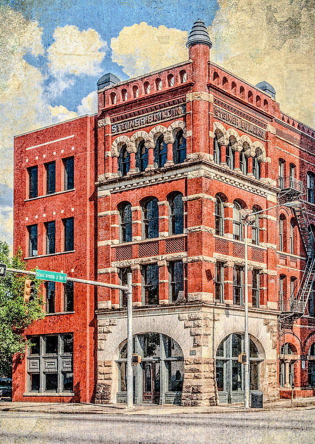 Birmingham Photograph - Steiner Building by Phillip Burrow