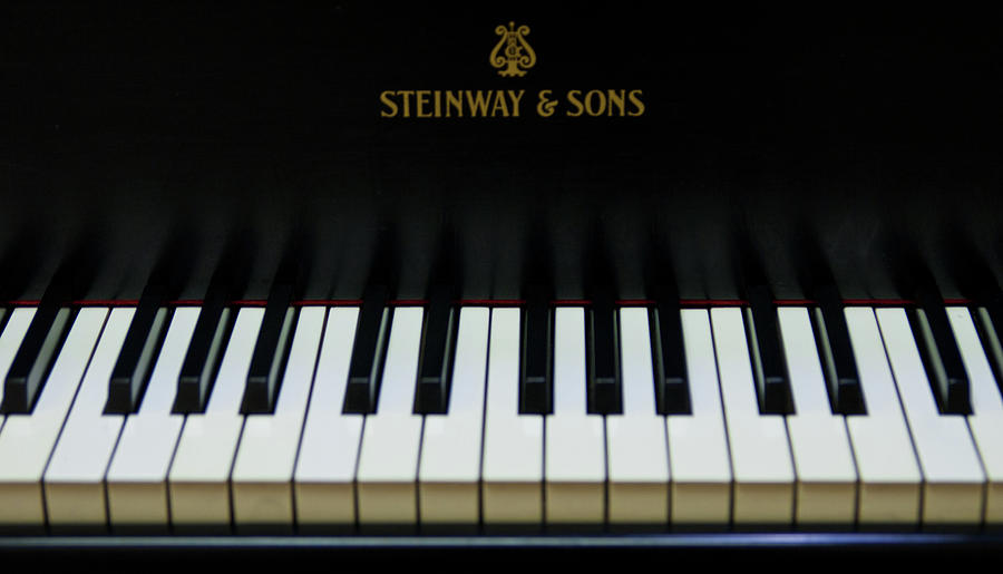 Piano Photograph - Steinway Grand Two by Sam Hymas