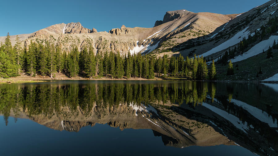 Stella Lake Great Basin National Park Nevada Photograph By Lawrence S Richardson Jr