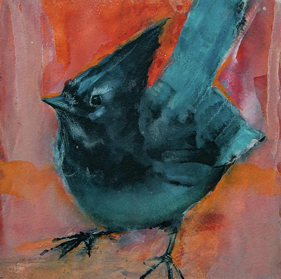 Stellar's Jay by Jani Freimann