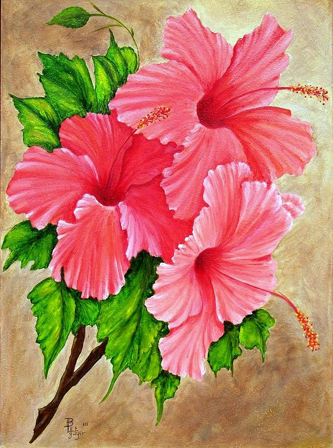 Painting Silk Flowers With Acrylic Paint