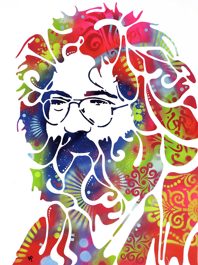 Stencil Jerry LG by Dean Russo