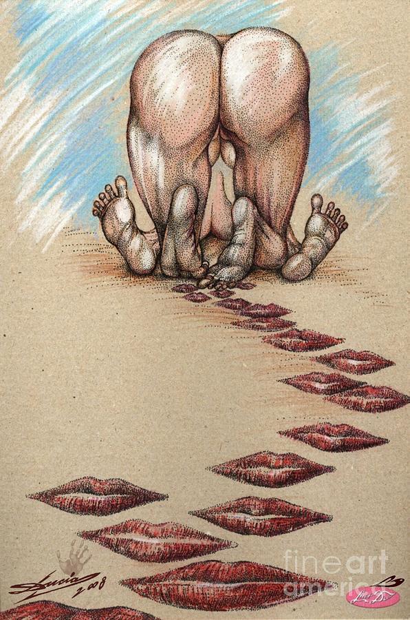 Step By Step... Digital Art by Lucian Ioan DOBARTA LuciDO