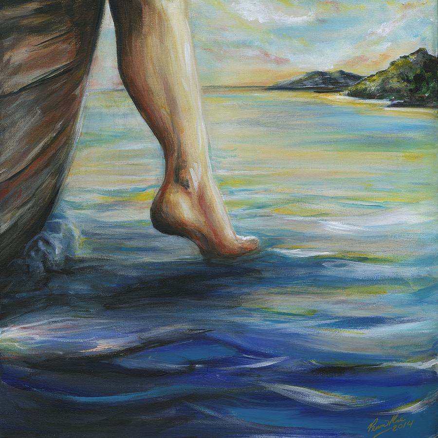 Αποτέλεσμα εικόνας για walk on water painting