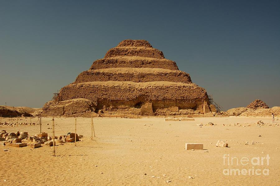 Africa Photograph - Step Pyramid 2 by Joe  Ng