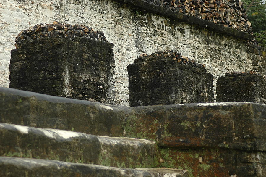 Mayan Ruins Photograph - Step To Sacrifice 2 by Lori Mellen-Pagliaro