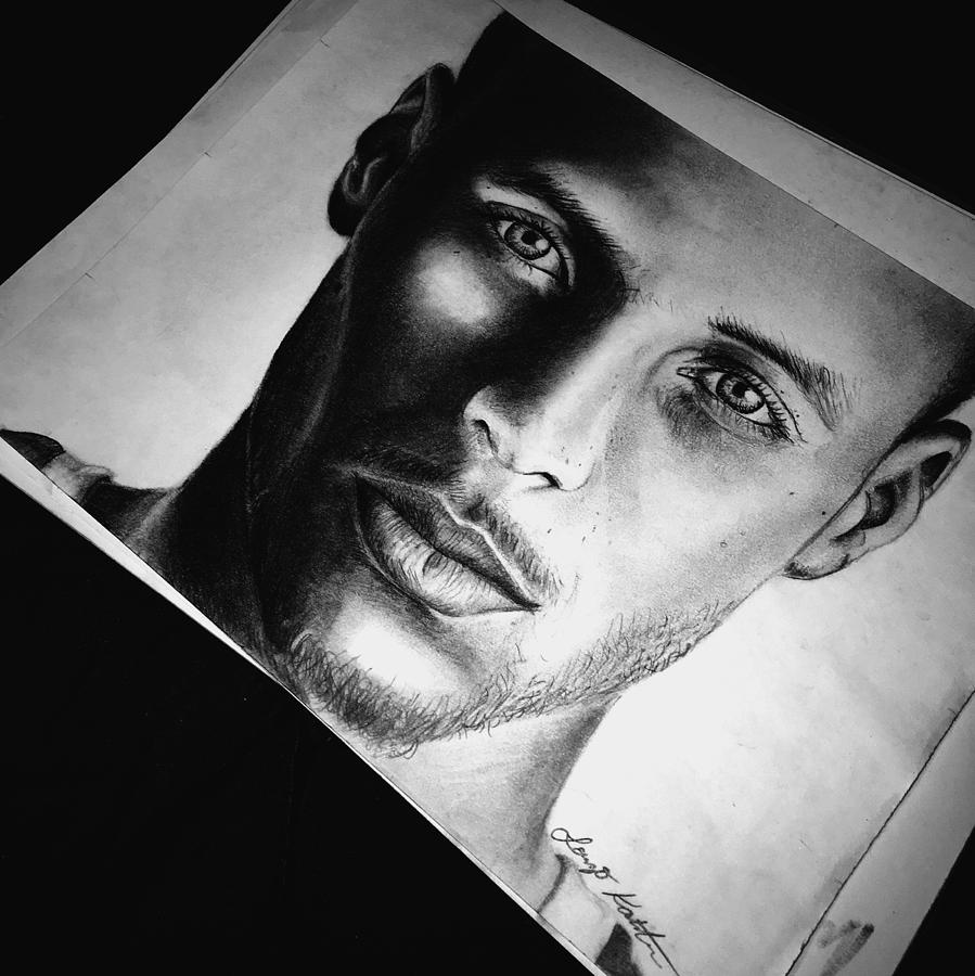 Steph Curry Portrait Drawing by Lorenzo Kastman bfed1f3c7