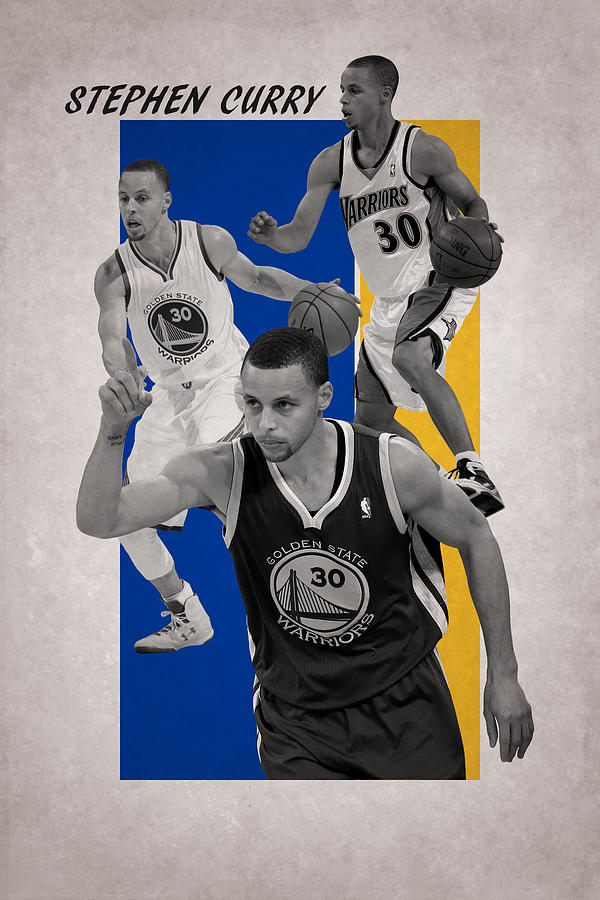 Curry Photograph - Stephen Curry Golden State Warriors by Joe Hamilton