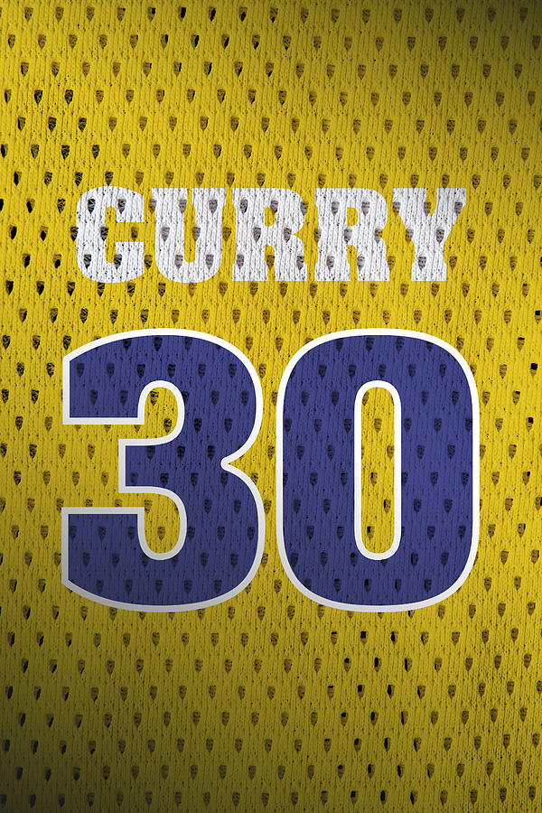 wholesale dealer 11d77 a853a Stephen Curry Golden State Warriors Retro Vintage Jersey Closeup Graphic  Design