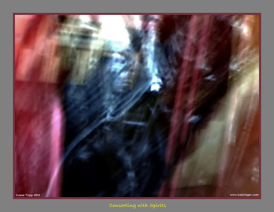 Ghost Photograph - Stepping Forward by Jane Tripp