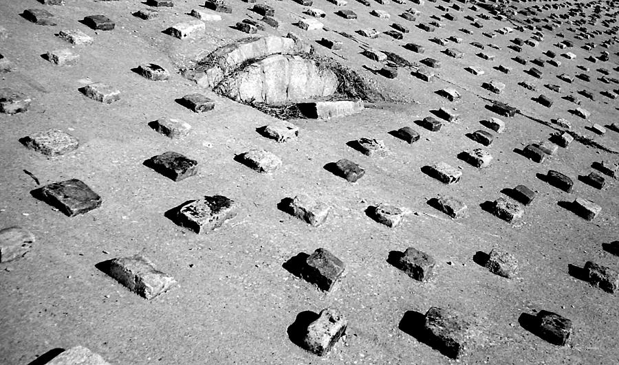 Pattern Photograph - Stepping Stones by Deborah  Crew-Johnson