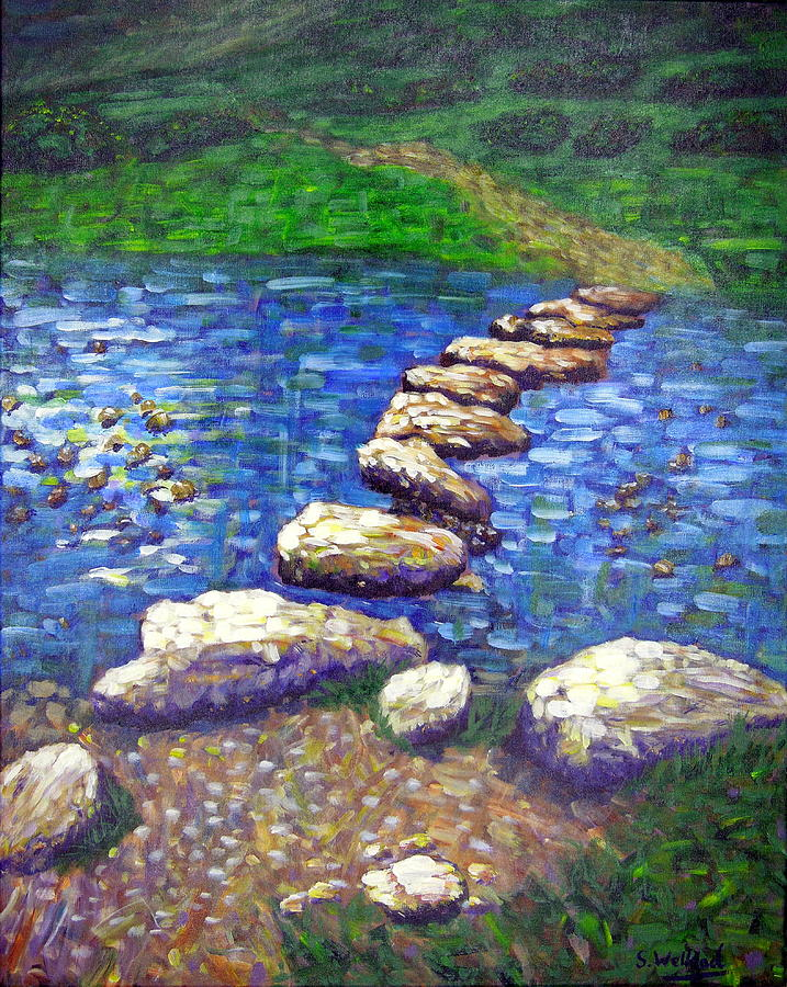 Stepping Stones by Shirley Wellstead