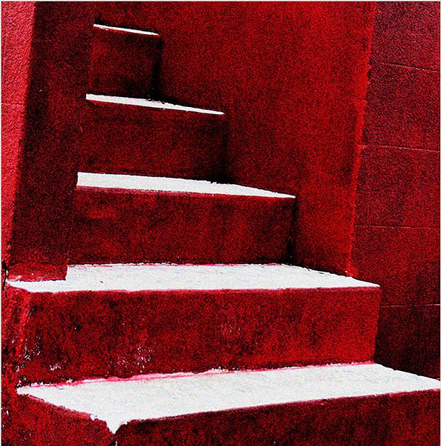 Brick Photograph - Steps by Alastair  MacKay
