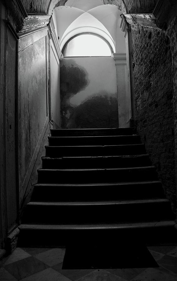 Darkness Painting - Steps by Arisha Salahuddin