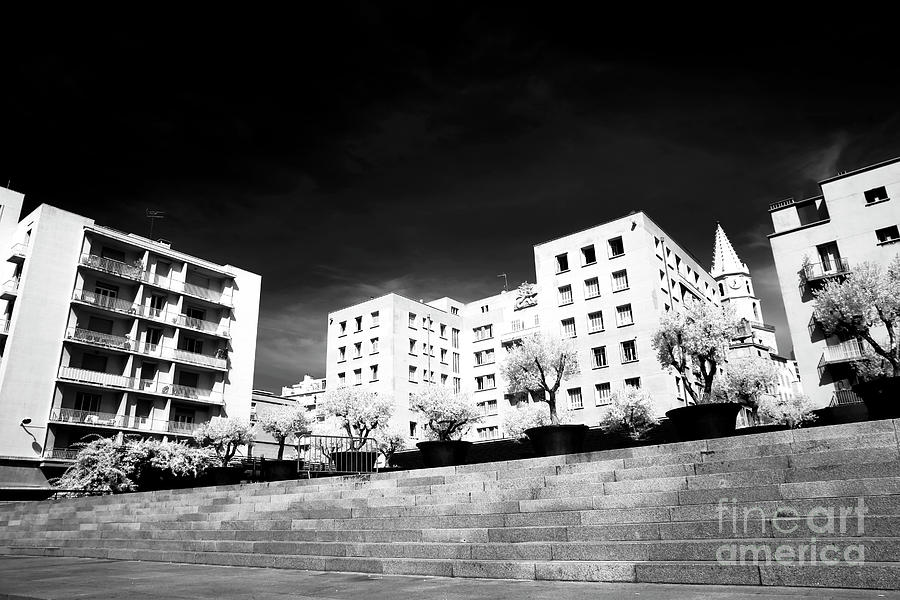 Steps Photograph - Steps In Marseille by John Rizzuto