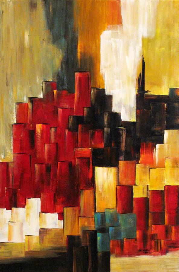 Glory Painting - Steps of Glory  by Rita  Ibrahim