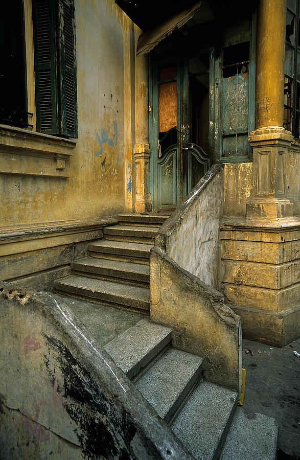 Architecture Photograph - Steps. by Tarek Charara