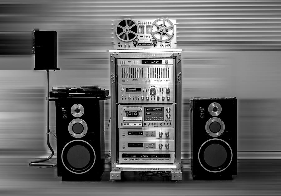 Black And White Photograph - Stereo by Lev PALIEV