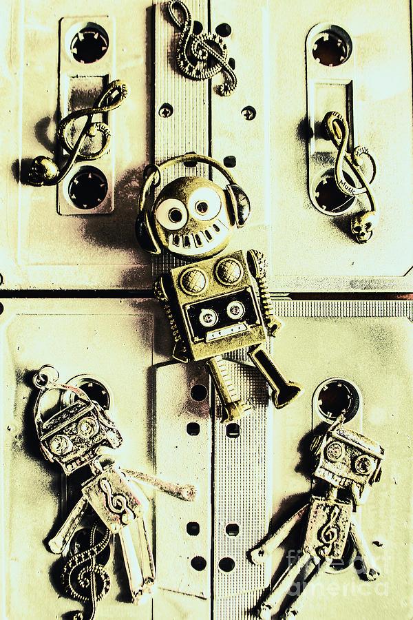 Trance Photograph - Stereo Robotics Art by Jorgo Photography - Wall Art Gallery