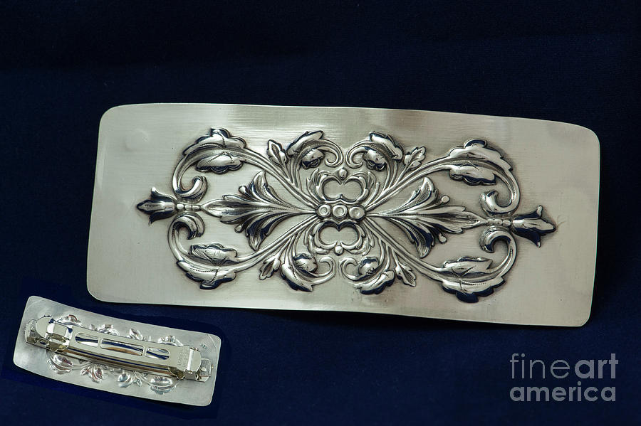 Sterling SilverArt Nouveau Hair Barrette by Melany Sarafis