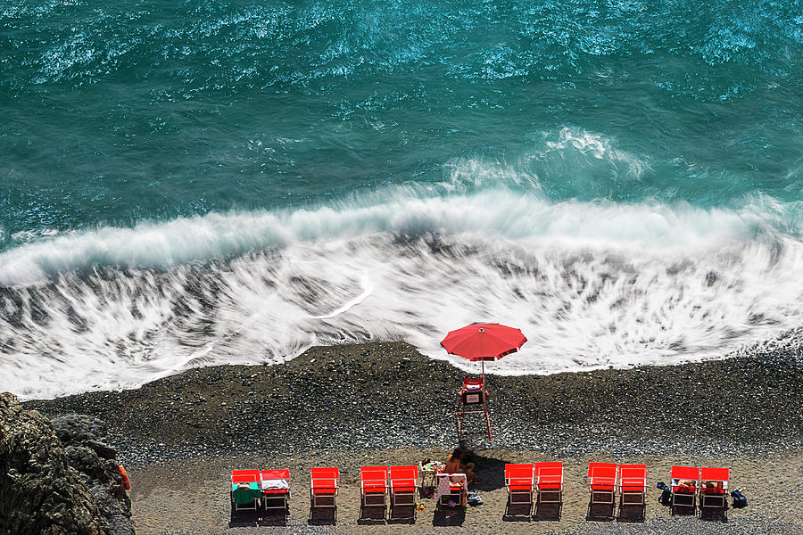 Mare Photograph - ...stessa Spiaggia... Stesso Mare...  ...the Same Beach... The Same Sea... by Enrico Pelos