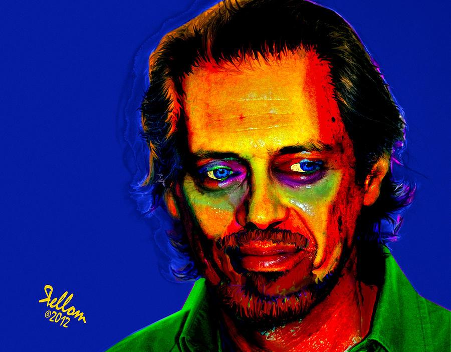 Steve Buscemi Digital Art - Steve Buscemi Pop Art by Che Moller