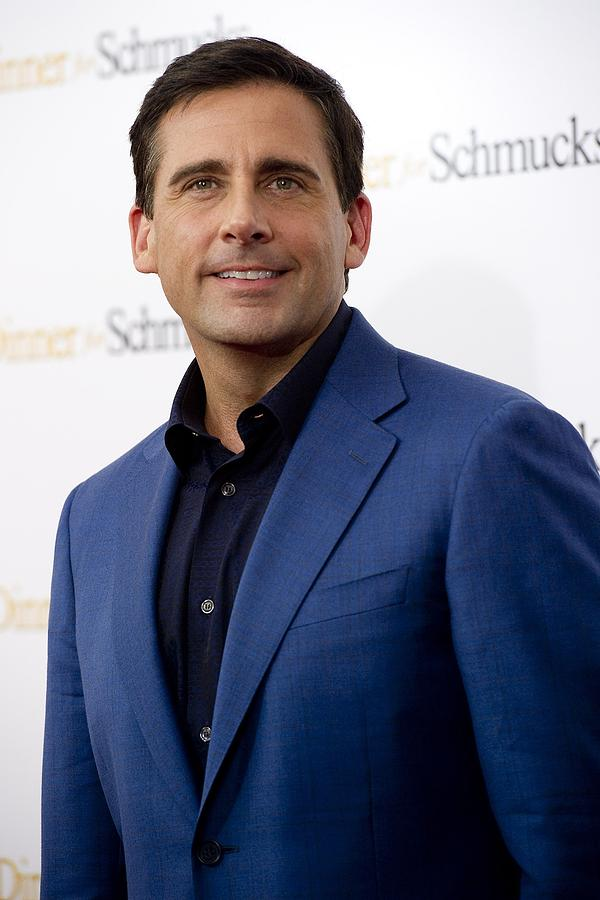 Premiere Photograph - Steve Carell At Arrivals For Dinner For by Everett