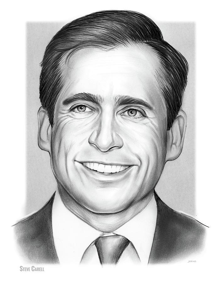 Steve Carell Drawing