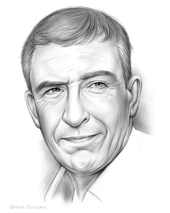 Steve Coogan Drawing