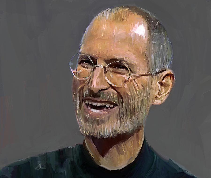 Steve Digital Art - Steve Jobs by Yury Malkov
