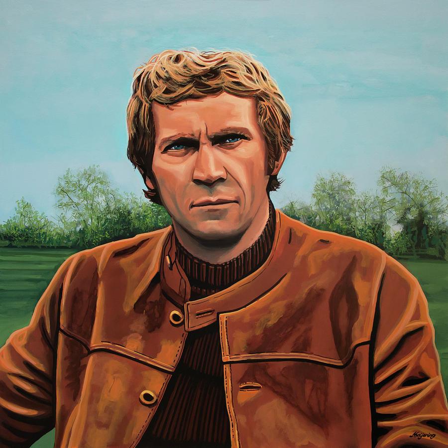 Steve Mcqueen Painting - Steve Mcqueen Painting by Paul Meijering
