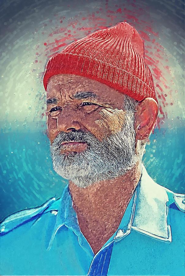 Steve Zissou Digital Art