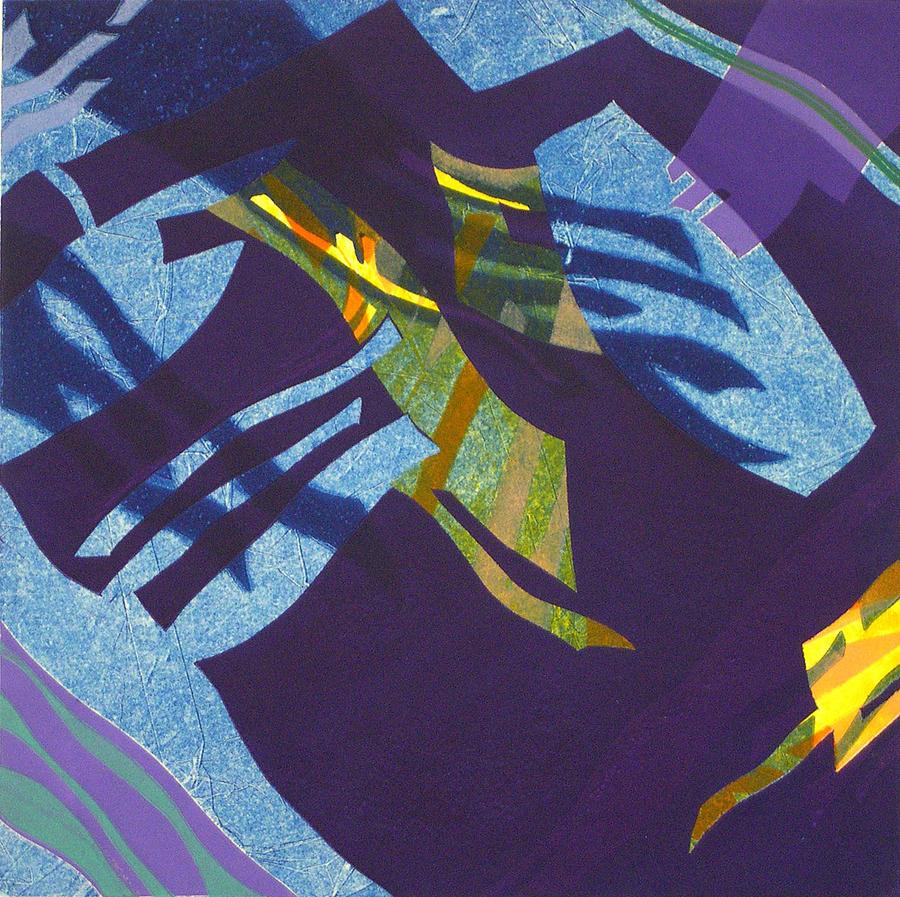 Abstract Print - Steveweave I by Robin Holder