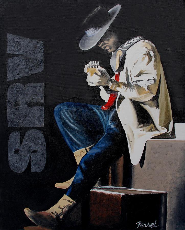 Blues Painting - Stevie by Ferrel Cordle