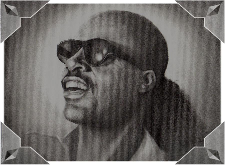 Stevie Drawing by Janet Gioffre Harrington