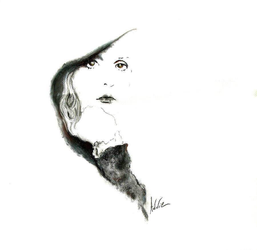 Stevie Nicks Drawing - Stevie Nicks by Addie Coppola