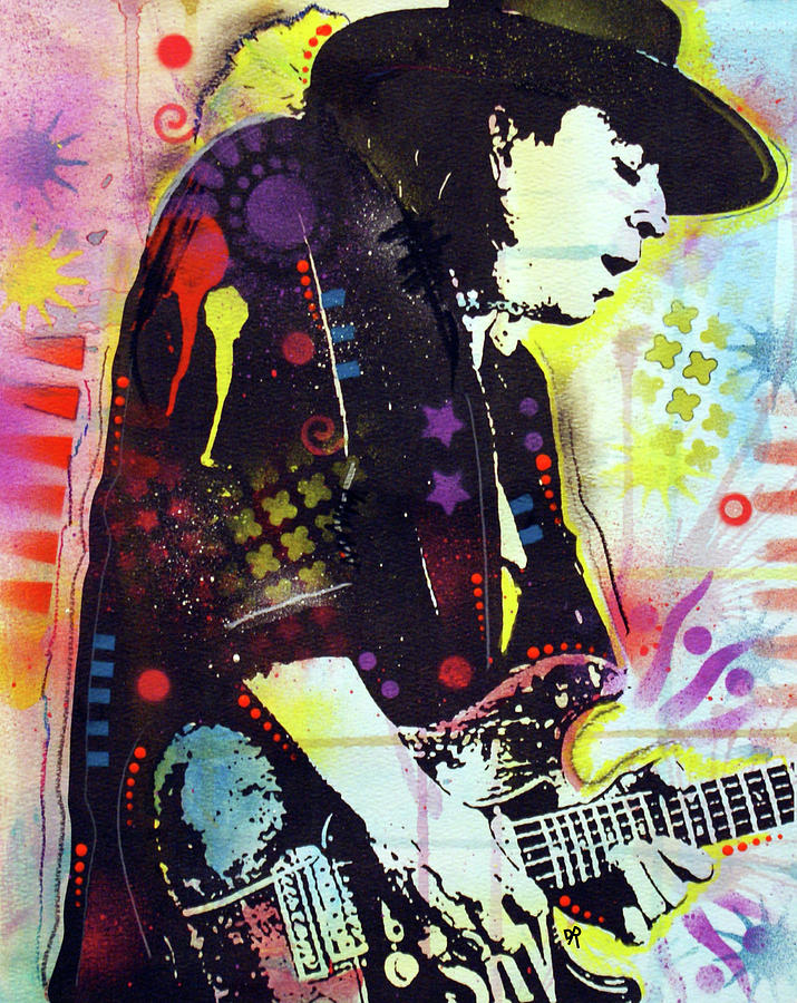 Stevie Ray GLOW by Dean Russo