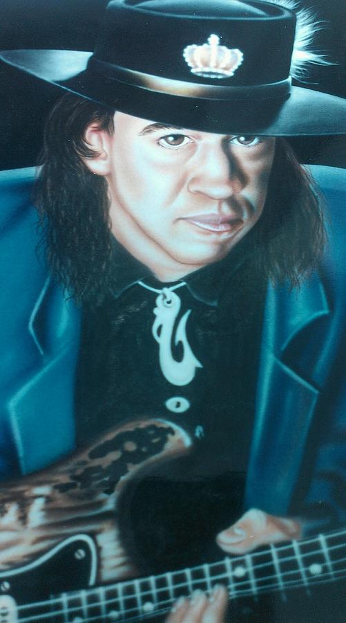Stevie Ray Vaughn by Darren Robinson