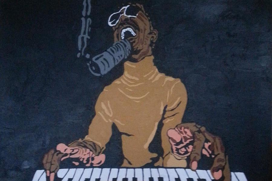 Stevie Wonder Painting - Stevie Wonder by Rachel Natalie Rawlins