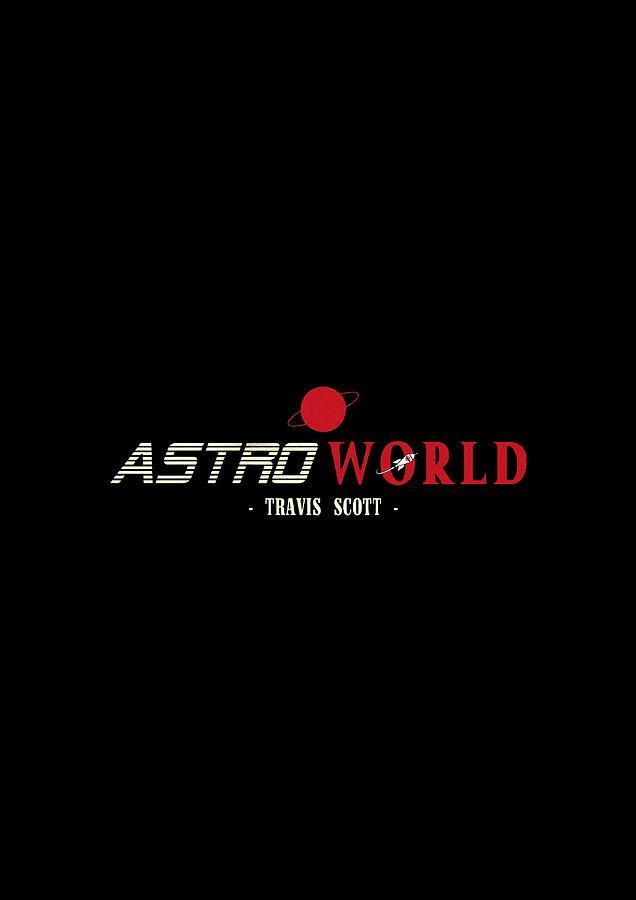 1cd2be0ef096 Sticker Travis Scott Astroworld Logo Tour 2018 Nesiastore Digital Art ...