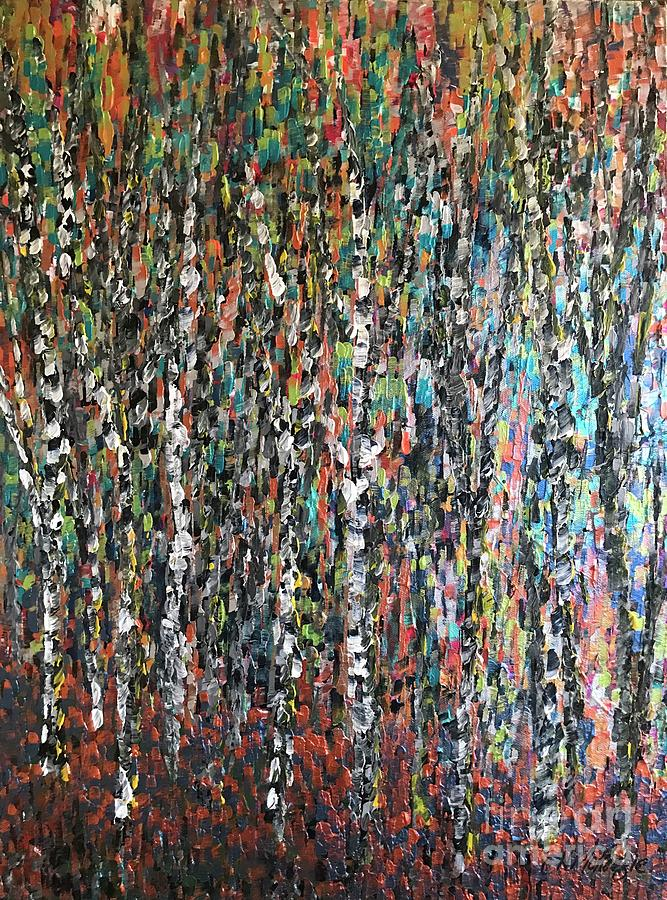 Sticks Painting - Sticks And Stones by Heather McKenzie
