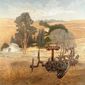 Landscape Painting - Stienbeck Country by John Fitzgerald