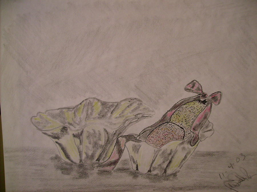 Still Life Drawing - Stii Life by Karen Salley-Rice