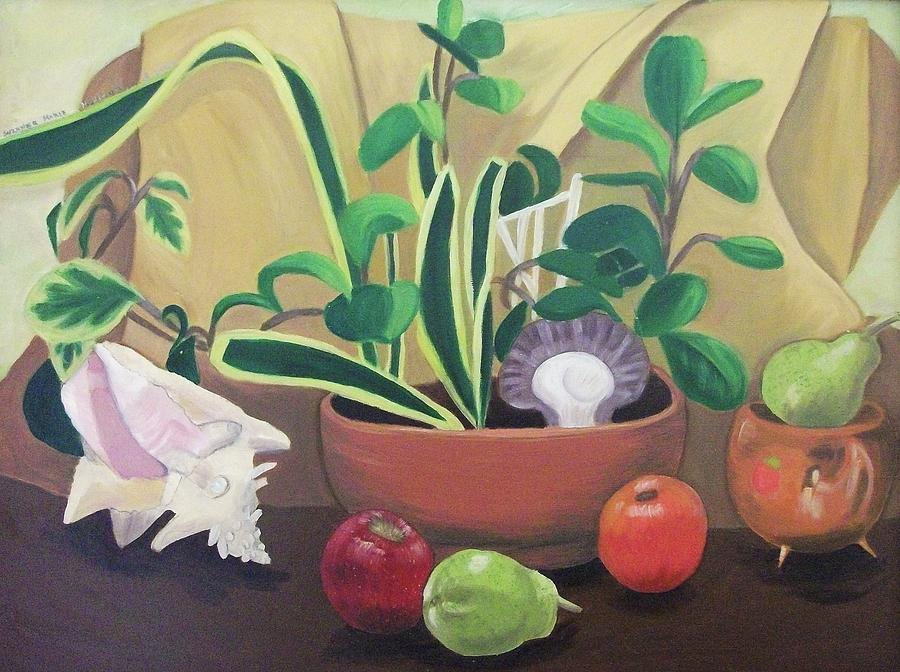 Still Life Painting - Still Alive by Suzanne  Marie Leclair