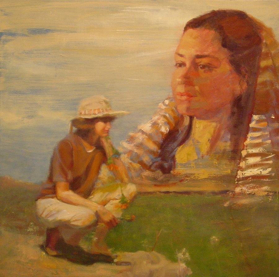 Still At Loss Painting by Irena  Jablonski