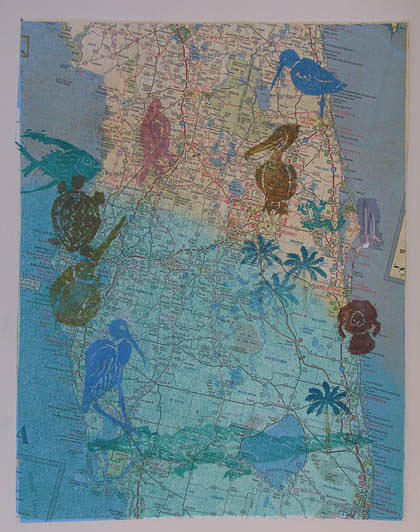 Florida Painting - Still Here by Libby  Cagle